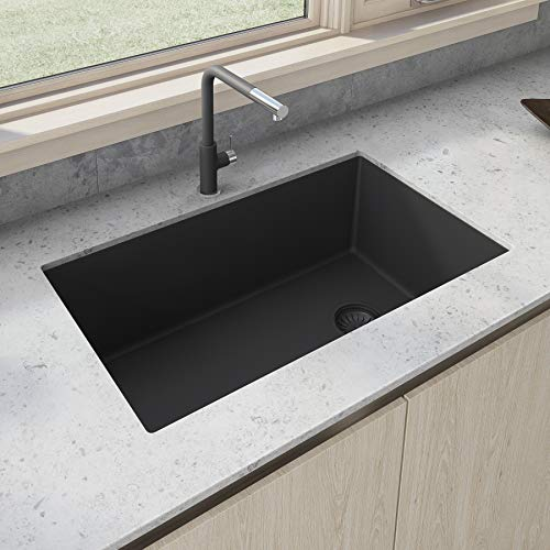 Ruvati Single Bowl Kitchen Granite Composite Sink