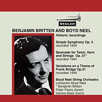 Britten: Historic Recordings