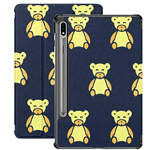 Galaxy Tab S7 Case Slim Lightweight Stand Case Shell Cover For Samsung Galaxy Tab S7 Tablet 11 Inch Sm-t870 Sm-t875 Sm-t878 2020 Release, Pattern Plush Bears