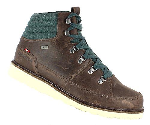 Dachstein Winterschuhe/Sneaker Art. Sigi DDS Wasserdicht, Warm Gefüttert und Vibramsohle (EU 48, Dark Brown)