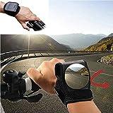 Fahrrad Spiegel Rückspiegel für Radfahrer Fahrrad Zubehör,Motorradlenker Reflektor Armband für...