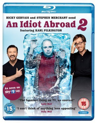 An Idiot Abroad - Series 2 [2 Blu-Rays] [UK Import] [2 DVDs]