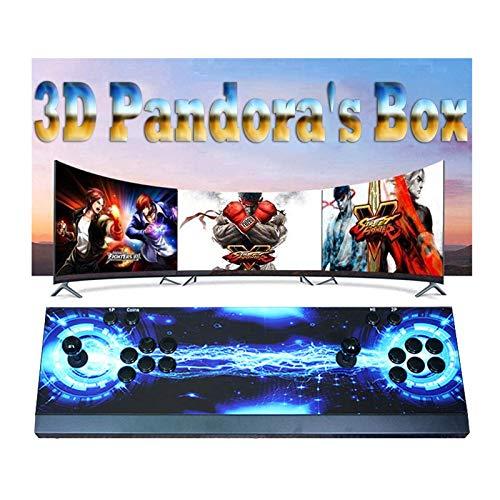 TANCEQI Consola De Games Arcade, 6800 Juegos Instalados, Juegos 3D Compatibles, Videojuego Full HD 1280X720, Lista De Favoritos, Juego En Línea para 4 Jugadores, Controles De Juego para 2 Jugadores