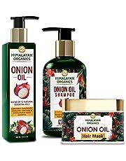 Himalayan Organics Onion Oil Shampoo 300ml with Onion Oil H