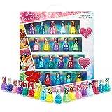 Disney Set Esmalte Uñas para Niñas, Kit de Uñas de Las Princesas, 18 Pintauñas Niñas Lavable con Agua, Niñas 3+