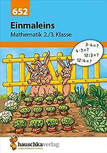 Einmaleins Mathematik 2./3. Klasse, A5- Heft
