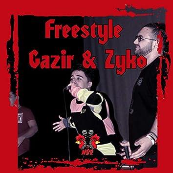 Freestyle Gazir & Zyko (Live)