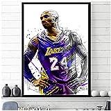 Kobe BryantBasketball Star Art Poster Poster und