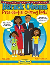 Barack Obama Presidential Coloring Book (Here & Now)