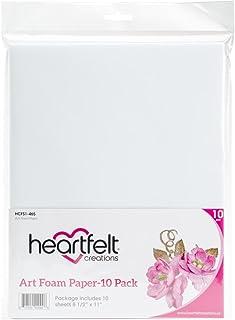 """Heartfelt Creations Art Foam Paper 8.5""""x11"""" 10/pkg, Hcfs1465"""