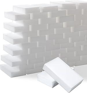 Trendbox 50-Pack Magic Cleaning Eraser Sponge Melamine Multi-Functional Sponges for Kitchen, Bathroom, Toilet