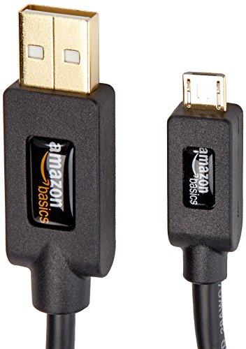 『Amazonベーシック USB2.0ケーブル 0.9m (タイプAオス- マイクロタイプBオス)』の3枚目の画像