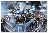 Lazio Bild auf PVC Plane / PVC Banner inkl Ösen, Maße: 60x40 cm