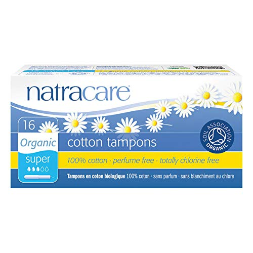 NATRACARE - Tampons Super Avec Applicateur 16 Tampons