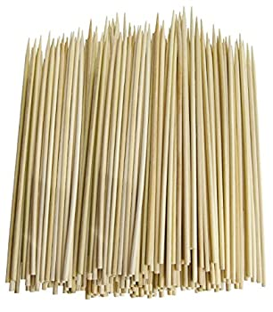 Chef Craft 3774X3 Thin Bamboo Skewers 300 Piece
