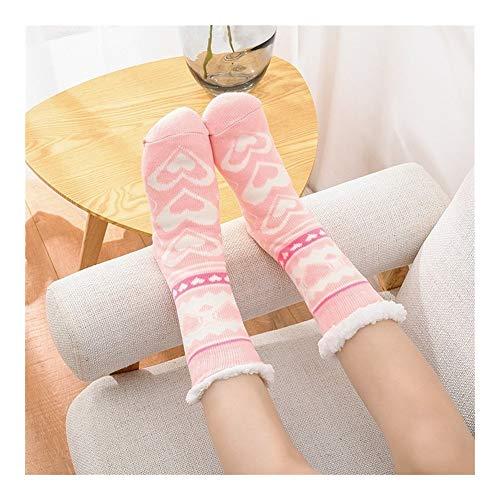 ZhujiaN Beheizbare Socken Elektro-Akku Beheizte Thermal Socken, Winter warme Socken mit 3 Heizstufen, Heizungs-Wärmer (Farbe : 009)