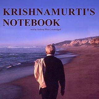 Krishnamurti's Notebook cover art