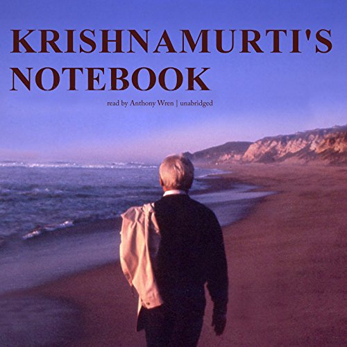 Krishnamurti's Notebook audiobook cover art