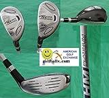 Orlimar AGXGOLF Tech Plus #3 & 4 Hybrid Irons w/Graphite Shaft; Left Hand; Cadet, Regular or Tall Length