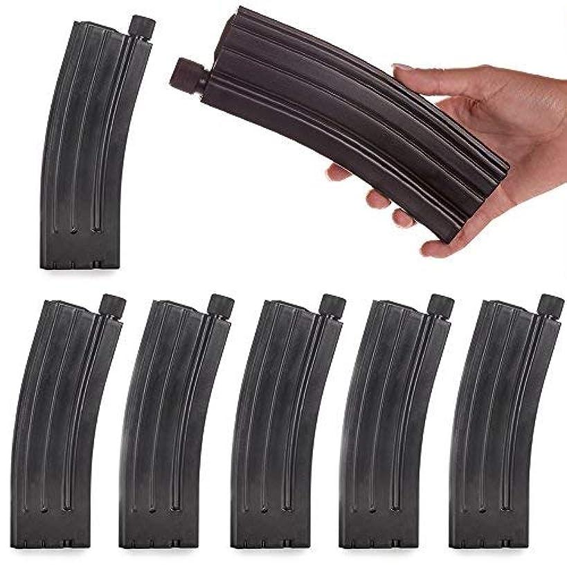 AR 7-Ounce Hip Flask - Replica Magazine Style Flask - Set of 6