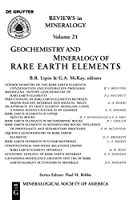 Geochemistry and Mineralogy of Rare Earth Elements (Reviews in Mineralogy & Geochemistry)