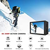 Zoom IMG-1 campark 4k 20mp action cam