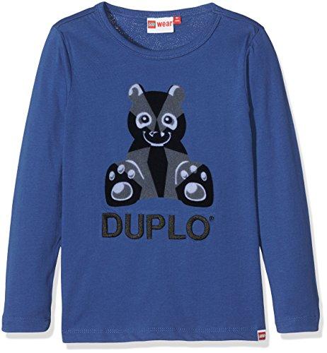 Lego Wear Duplo Texas 701-T-Shirt Top à Manches Longues, Bleu (Dark Blue), 18-24 Mois (Taille Fabricant: 86) Bébé garçon