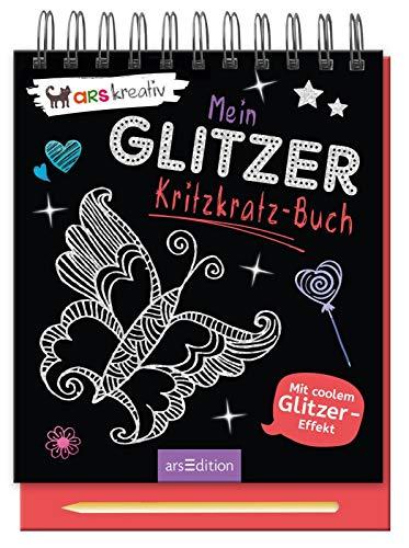 Mein Glitzer-Kritzkratz-Buch