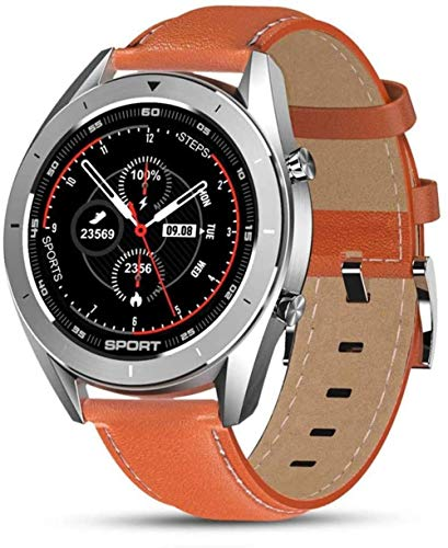 Reloj Inteligente Ip68 Impermeable Ronda Hd Pantalla ECG Detección Diales Cambiables Smartwatch Fitness Tracker Hombres Exquisite-I