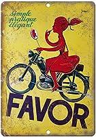 好意オートバイティンサイン壁鉄絵レトロプラークヴィンテージメタルシート装飾ポスターおかしいポスター吊り工芸用バーガレージカフェホーム