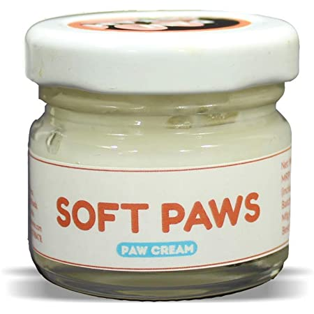 PAPA PAWSOME 25g Soft Paws Cream for Cracked and Chapped Paws - 100% Natural Moisturizer for Pet Dogs/Pup, Paw Butter Helps Repair, Sooth & Heals Dry Paw & Elbow