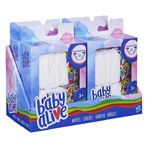 Baby Alive - Recambios de pañales para muñecas (Hasbro C2723EU4)