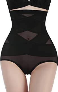 Nebility Women Butt Lifter Shapewear Hi-Waist Double Tummy Control Panty Waist Trainer Body Shaper