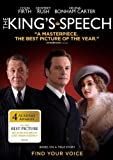 The King's Speech with Colin Firth, Helena Bonham-Carter