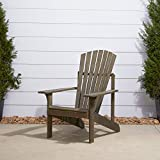 Vifah Renaissance Outdoor Patio Wood Adirondack Chair