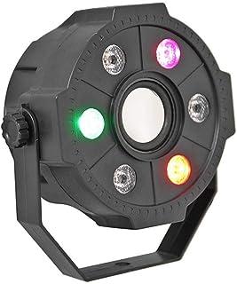 USDWRM Bluetooth Stage Light KTV Small Par Lamp Disco Strobe Lights RGB LED Bluetooth Stage Light Long Service Life and Lo...