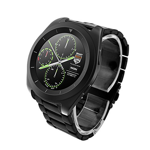 No.1 Smart WatchG6a bracciale con Bluetooth, cardiofrequenzimetro, pedometro, per iOS, iPhone, Android