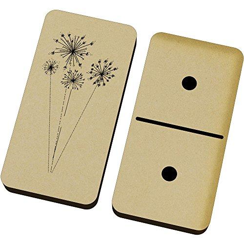 Azeeda 'Löwenzahn Uhren' Domino-Spiel und Box (DM00017949)