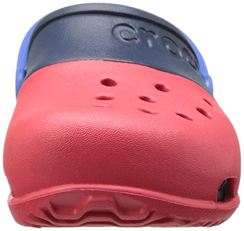 crocs Kids' Electro II Clog (Toddler/Little Kid),Red/Navy,5 M US Toddler