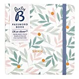 Busy B Password Book - Floral,9769,multicoloured
