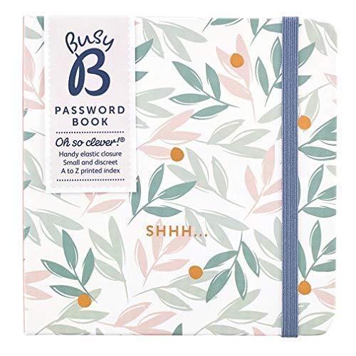 Busy B Passwortbuch – Blumen