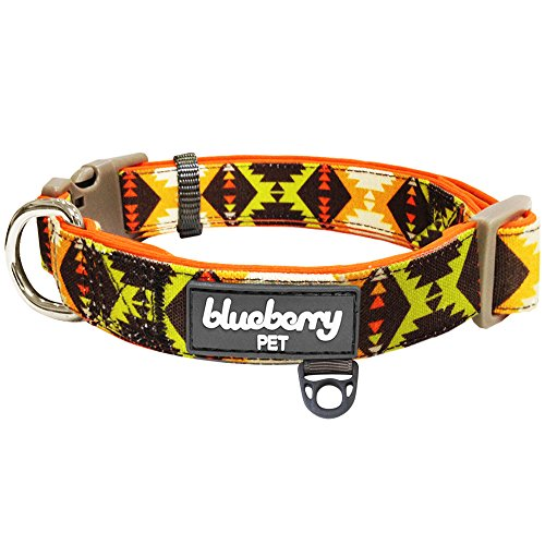 Blueberry Pet Soft & Comfy Vintage Tribal Pattern Adjustable Neoprene...