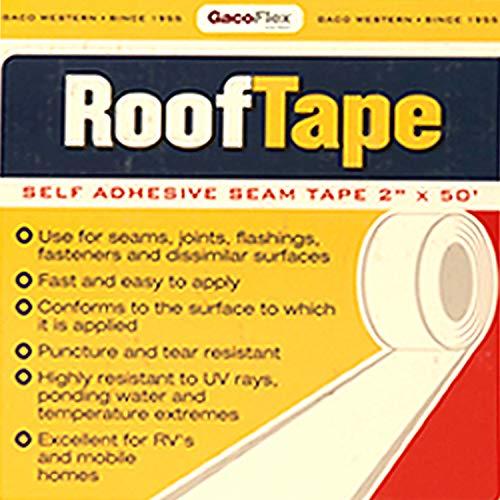 Gaco # GRT50 ~ Gaco Roof Tape - 2 inch x 50 ft roll -  GACO WESTERN, LLC