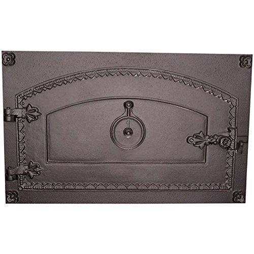 Fonderie Lacoste 0362 Porte de Four, Noir, 63 x 16 x 39 cm
