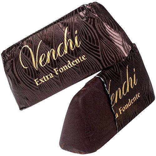 Venchi Giandujotto Cacao Eytra Dark Gianduja 75% Coaoa y Piamonte Pasta de avellana 1000 g