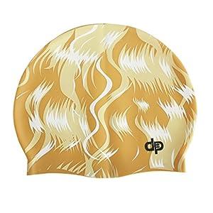 979a7fa20c9e Diapolo Cuffia da Nuoto Professionale a Forma di Teschio, in Silicone, per  Uomo e Donna, Ragazze e Ragazzi: Amazon.it: Sport e tempo libero