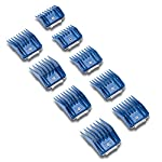 Andis Plastic Blade Comb Sets, 9 Pieces, Small 13