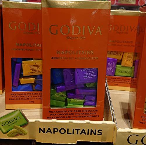 GODIVA ゴディバ ナポリタン 4種アソート チョコレート 225g