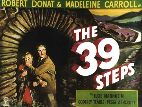 The 39 Steps POSTER Movie (22 x 28 Inches - 56cm x 72cm) (1935) (Half Sheet Style A)