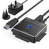 USB IDE ou SATA Adaptateur, FIDECO USB 3.0 Adaptateur de Disque Dur en Aluminium pour...